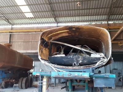 Recuperação e Reforma de Tanques de Fibra