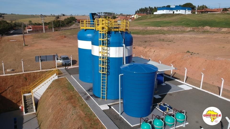 Tanques especiais para estações de tratamento de água e efluentes industriais