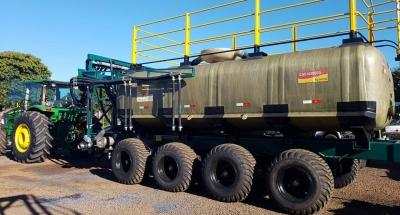Tanques Off Road para Irrigação Agrícola