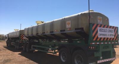 Tanques de Transporte em Fibra de Vidro