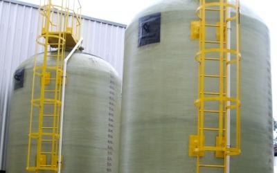Reservatórios em fibra de vidro para o setor de Papel e Celulose
